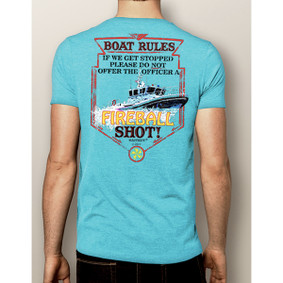 Men's Boating T-Shirt- Fireball (More Color Choices)