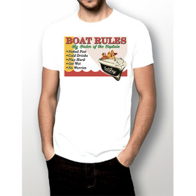 By Order of the Captain (Boat Rules) - Men's Boating Shirt