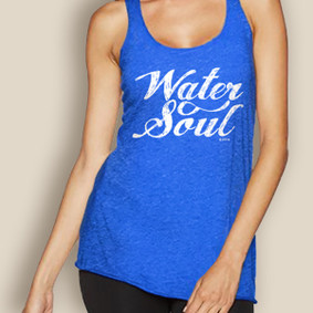 Boating Tank Top - WaterGirl Royal Water Soul