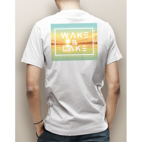 Guy's Wake & Lake Sun Block Pocket Tee