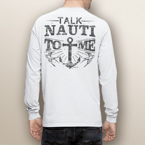 Men's Boating Long Sleeve with Pocket  - Talk Nauti  (More Color Choices)