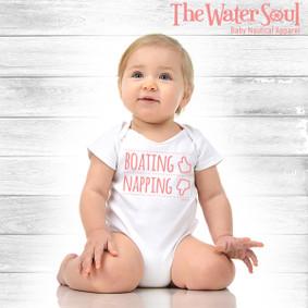 Baby Boating Napping  - Girl Bodysuit