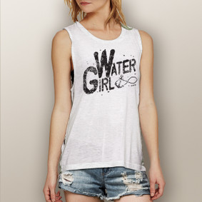 Watergirl Infinity -  Muscle Tank (more color choices)