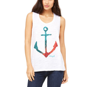 Fishnet Anchor -  Muscle Tank