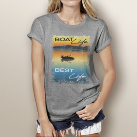 Boat Life Best Life - Watergirl T-Shirt (more color choices)