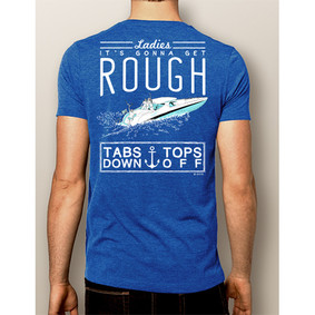 Men's Boating T-Shirt - NautiGuy Tabs Down