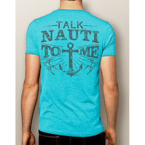 Men's Boating T-Shirt - NautiGuy Talk Nauti ( More Color Choices)
