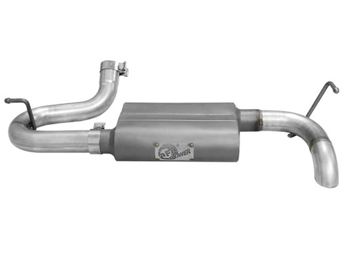 """aFe POWER 49-08046 Scorpion 2-1/2"""" Aluminized Steel Axle-Back Exhaust System"""