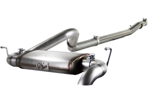 """aFe POWER 49-46220 MACH Force-Xp 3"""" 409 Stainless Steel Cat-Back Exhaust System"""
