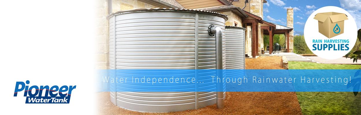 Pioneer Metal Water Tanks