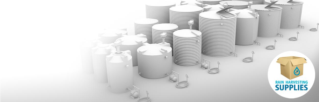 Rainwater Harvesting Tanks, Pumps, Filters