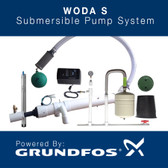 WODA-SF SUBMERSIBLE FLOOR MOUNTED PUMP SYSTEM (Low Introductory Pricing)