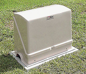 Electric Hot Water Heater Parts HOT BOX Valve Enclosure, 90W Heater, L 39""