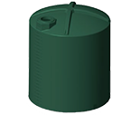 8,000 Gallon Rotoplas Water Storage Tank