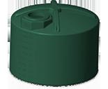 5100 Gallon Rotoplas water storage tank - short