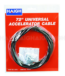 "Accelerator Cable Universal 72"" (AC72)"