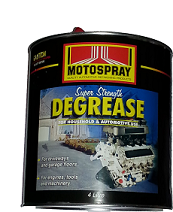Motospray Super Strength Degreaser 4ltr (MSD-4L)