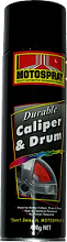 Motospray Caliper & Drum Paint Midnight Black 400g (MSCD-400G)