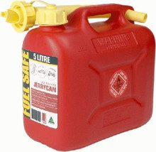 Fuel Container 5Ltr Plastic ( FC05R)