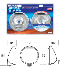 Narva 71640 Driving lamp Kit (71640)