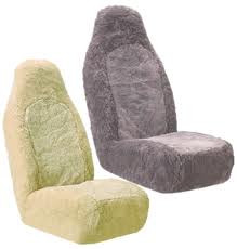 Sheep Skin Seat Cover Sets (SCW-JB)