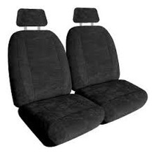 Seat Cover Sets Platinum Suede (SSC-Plat)