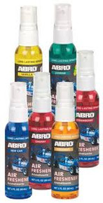 Abro Air Freshener assorted fragrances 60ml each (SM557)