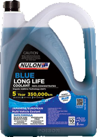 Nulon Long Life Coolant Blue 5ltr (NCB-5L)