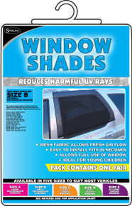 Window  Shade Small Rectangular (SOX- B)