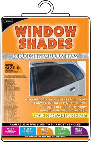 Window Shade set Small Curved (SOX-D)
