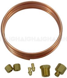 Oil Line Kit Copper For Gauge (74322)