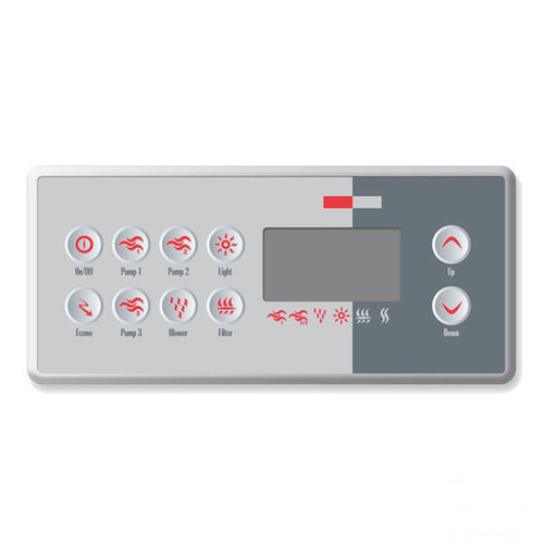 TSC-8-10K-GE1 Topside Control with Overlay