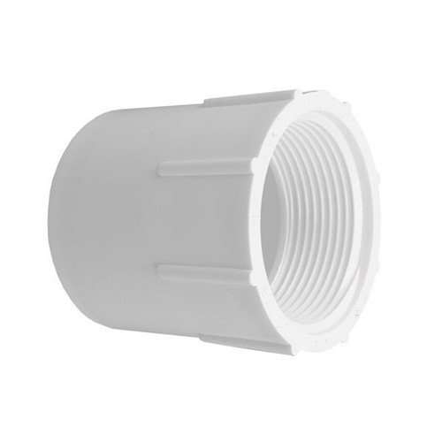 """PVC Female Adapter - 1-1/2"""" Slip x 1-1/2"""" FPT"""
