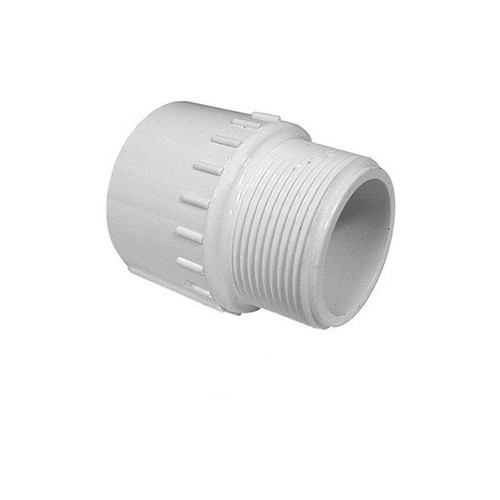 "PVC Male Reducing Adapter - 1-1/2"" Slip x 1-1/4"" MPT"