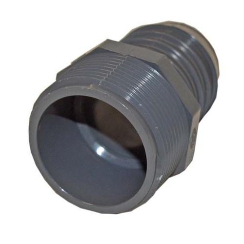 "PVC Insert Fitting Male Adapter - 1-1/2"" Barb x 1-1/2"" MPT"