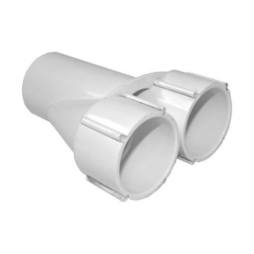 """Waterway PVC Wye Manifold - 1-1/2"""" S x 1-1/2"""" S x 1-1/2"""" S"""