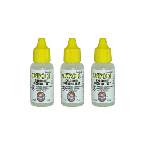 Value Pack - 3x OTO Yellow Test Reagent (1/2oz.)