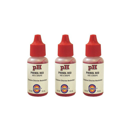 Value Pack - 3x Phenol Red Test Reagent (1/2oz.)