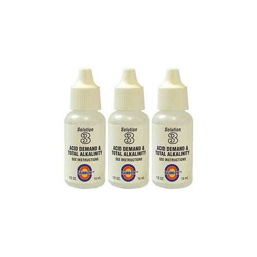 Value Pack - 3x Acid Demand/Alkalinity Test Reagent #3 (1/2oz.)
