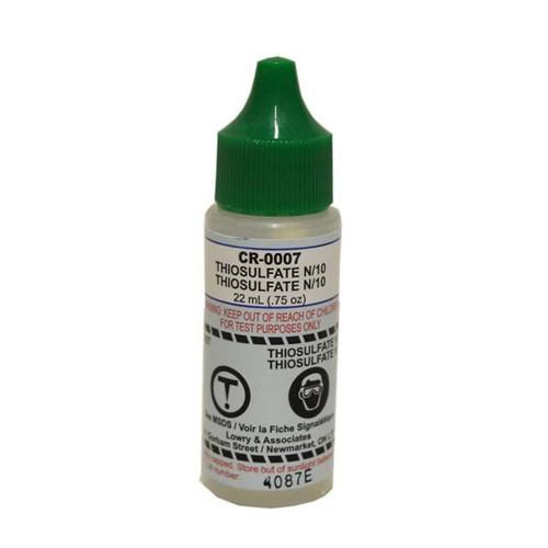 Taylor Test Reagent R-0007-A Thiosulfate N/10 - 0.75oz