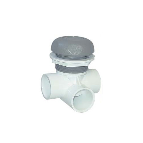 "600-4387 Waterway Valve - 1"" On/Off (Complete Assembly - Grey)"