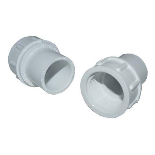 """PVC Female Adapter - 1"""" Slip x 3/4"""" FPT"""