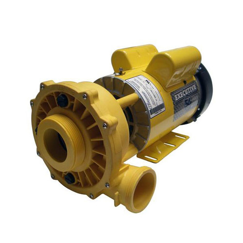 Replacement Coast Spas Yellow Waterway pump 5HP with Franklin motor
