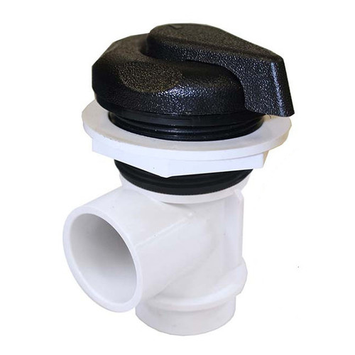 "600-4221 Waterway Valve - 1"" Diverter (Complete Assembly - Black)"
