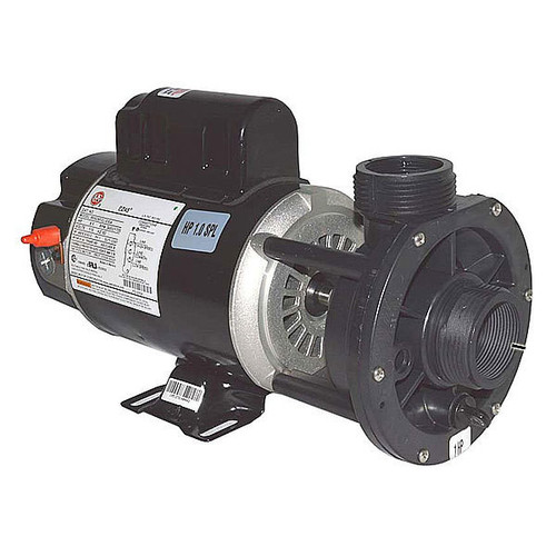 "Waterway 1HP 2 Speed 48 Frame 120 Volt Pump 1.5"" in-out, center discharge"