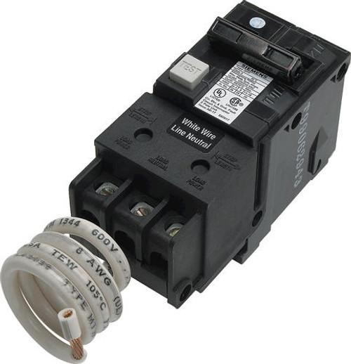 Siemens 50 Amp Double Pole GFCI Breaker only