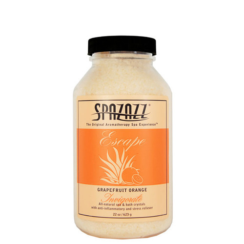 Grapefruit Orange Spazazz Aromatherapy Crystals For Your Hot Tub