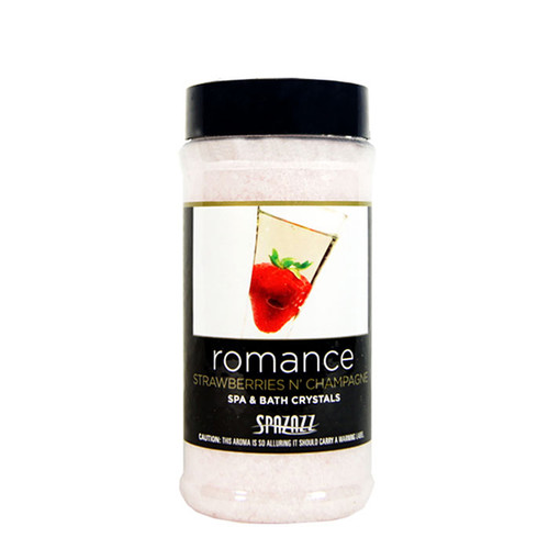 Strawberries 'n Champagne Spazazz Aromatherapy Crystals For Your Hot Tub