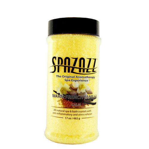 Warm French Vanilla Spazazz Aromatherapy Crystals For Your Hot Tub