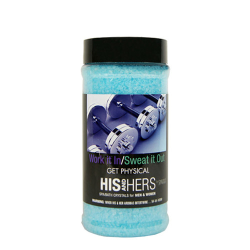 Work It In & Sweat It Out Spazazz Aromatherapy Crystals For Your Hot Tub